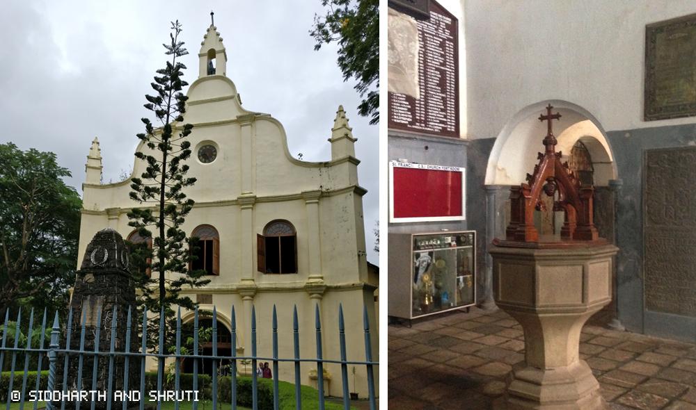 Fort Kochi - St Francis Church