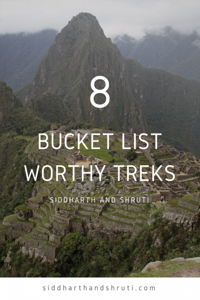 8 bucket list worthy treks | Siddharth and Shruti
