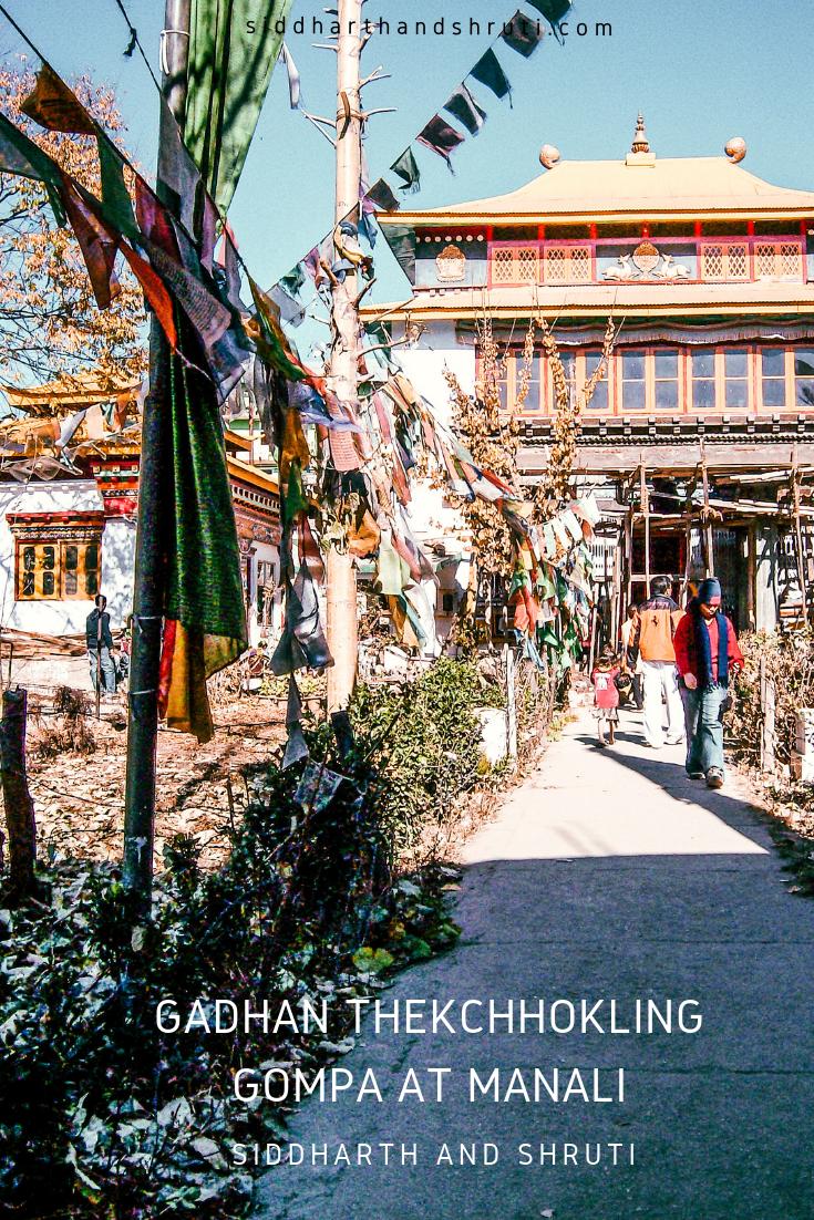 siddharthandshruti Gadhan Thekchhokling Monastery
