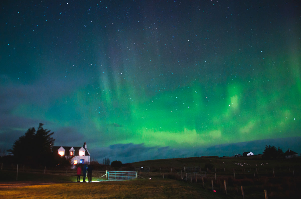 Magical Destinations to chase the Northern Lights other than Iceland - Scotland