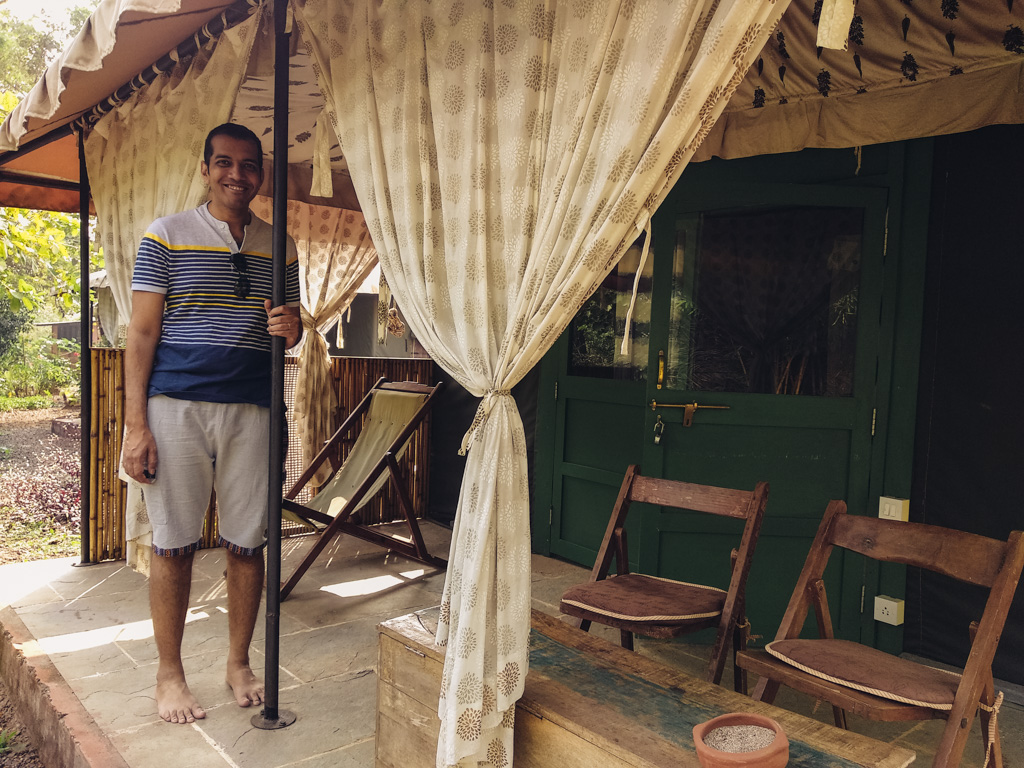 Bohemyan Blue Tent Stay